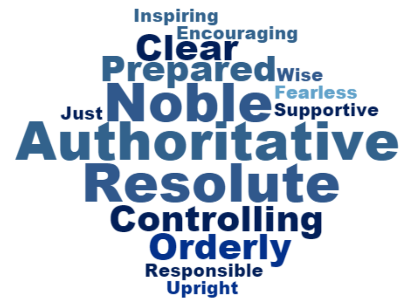 Team Me Sovereign Archetype Word Cloud