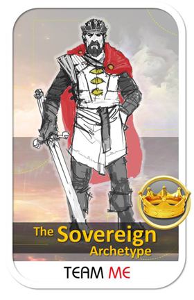 The Team Me Sovereign Archetype Card