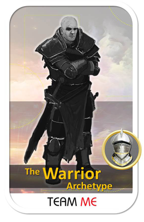 The Team Me Warrior Archetype Card